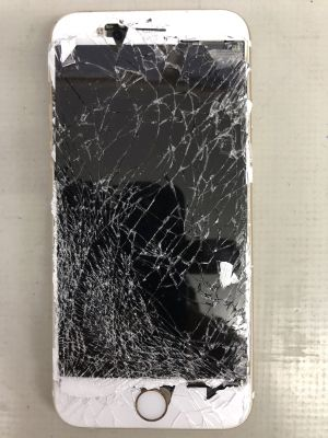 iPhone6Sバリバリ割れ修理 from 玖珠町