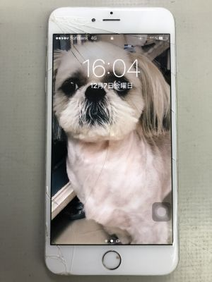iPhone6Plusパネル+バッテリー交換