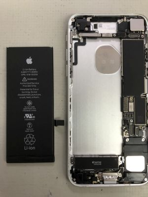 iPhone7バッテリー交換 from 別府市