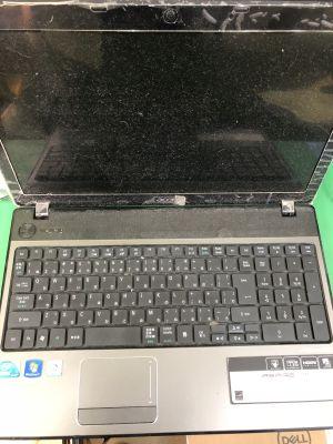 Acer Aspire5741キーボードが1つ効かない!?