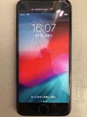 iPhone6Sガラス/バッテリ交換 from 大分市内