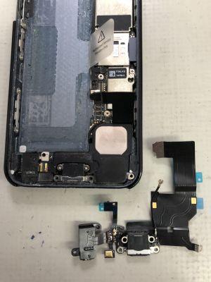 iPhone5充電出来ない from 大分市大道