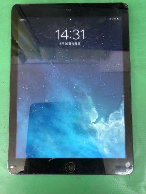 iPad Airホームボタン陥没 from 大分市皆春