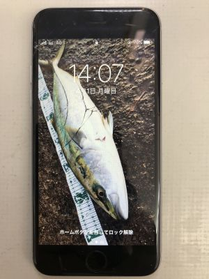 iPhone6Sガラス割れ from 大分市今津留