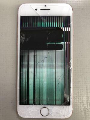 iPhone7液晶故障修理 ~大分市寺崎