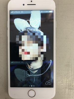 iPhone7液晶故障修理 ~大分市内