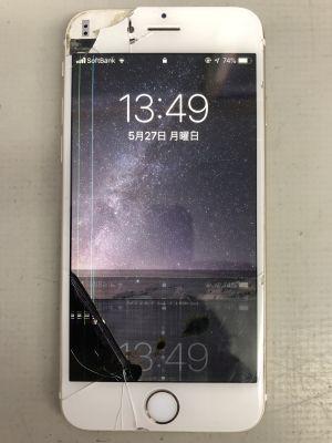 iPhone6液晶故障他 ~福岡市(出張者)