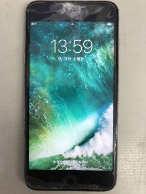 iPhone6S Plusガラス割れ修理 ~大分市牧