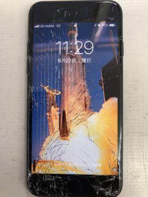 iPhone7液晶故障 ~大分市内