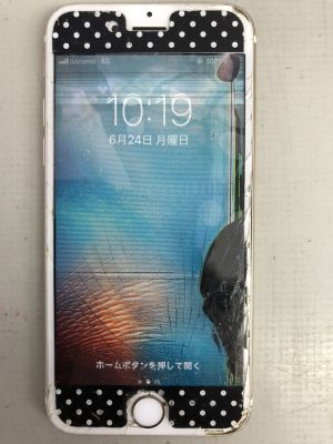iPhone6S液晶漏れ故障 ~別府市