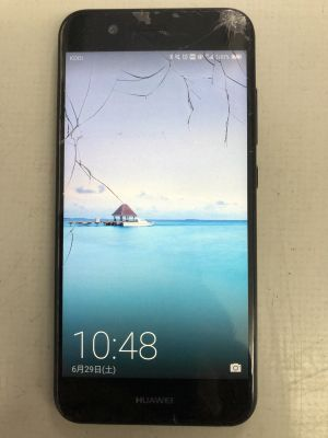 Huawei Nova2ガラス割れ修理 ~大分市内