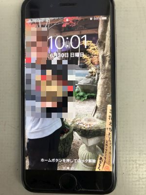 iPhone6バッテリー交換 ~大分市内