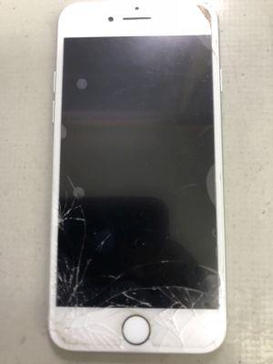 iPhone7ガラス割れ水没 ~大分市萩原