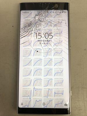 Xperia XA2 Plusガラス割れ ~佐伯市