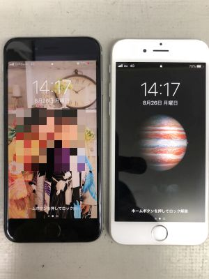 iPhone6バッテリー交換 x2 ~大分市春日