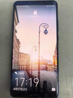 Huawei mate10proバッテリー膨張~杵築市