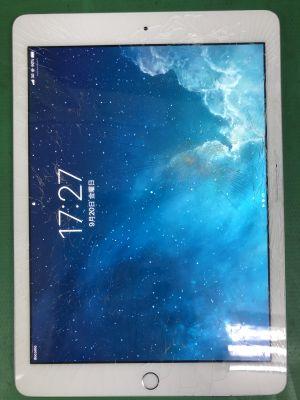 iPad 5 ガラス割れ ~豊後高田市