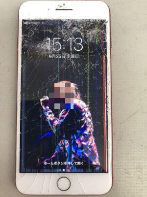 iPhone7Plusガラス、タッチ故障~大分市今津留