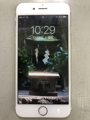 iPhone6Sバッテリー交換 ~大分市錦町