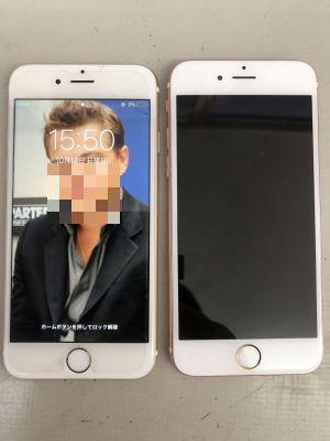 iPhone6,6Sガラス液晶故障 ~大分市古国府