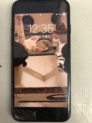iPhone7バッテリー交換 ~大分市金池