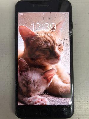iPhone7Plusカラス割れ修理 ~大分市猪野