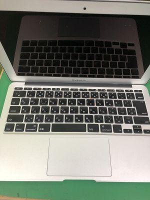 MacBook Airバッテリー膨張 ~大分市一木