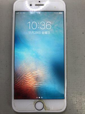 iPhone6バッテリー膨張~大分市ふじが丘