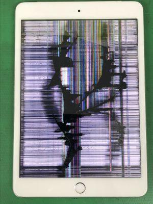 iPad mini3液晶割れ交換 ~大分市小池原