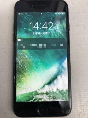 iPhone7ガラスタッチ故障~鶴崎