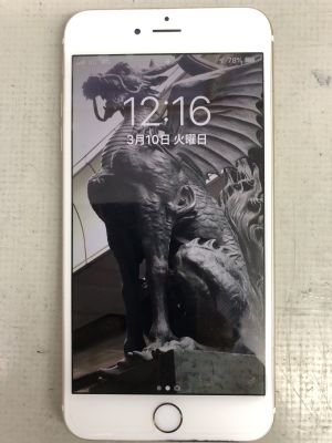 iPhone6Plus電池交換~福岡市