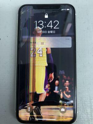 iPhone11液晶割れ~大分市花高松