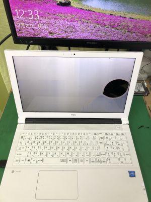 パソコン液晶割れ~豊後高田市