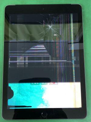 iPad5液晶割れ~大分市小池原