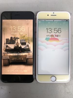 iPhone6S W電池交換 ~別府市