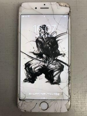 iPhone6S画面割れ~津久見市