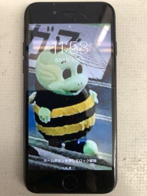 iPhone7画面割れ ~大分市乙津