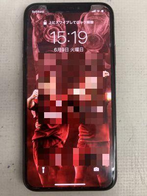 iPhoneXバッテリー交換~大分市大道