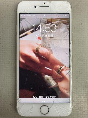 iPhone7画面+電池交換~大分市葛木