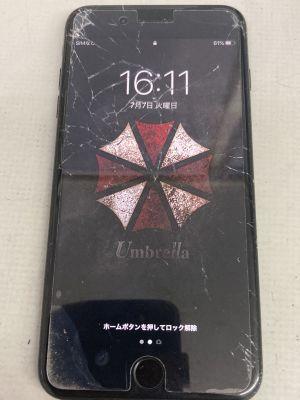 iPhone7Plus画面修理他~大分市三川