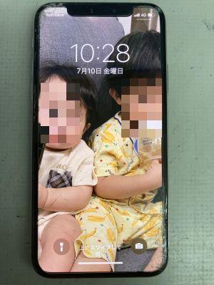 iPhoneXs画面交換~大分市常行