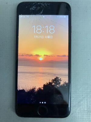 iPhone6酷い修理痕 ~大分市明野