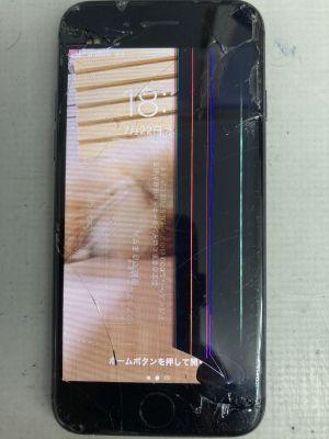 iPhone8画面他修理 ~別府市鶴見
