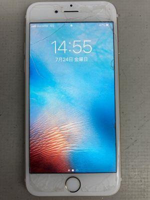 iPhone6S画面電池交換~大分市公園通り