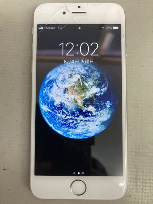 iPhone6ガラス割れ ~別府市