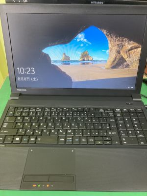 Dynabook B554/M SSD換装 ~大分市猪野