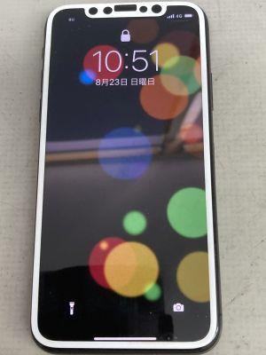 iPhoneXバッテリ膨張 ~大分市明野