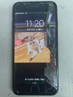 iPhone8液晶タッチ故障 ~大分市鶴崎