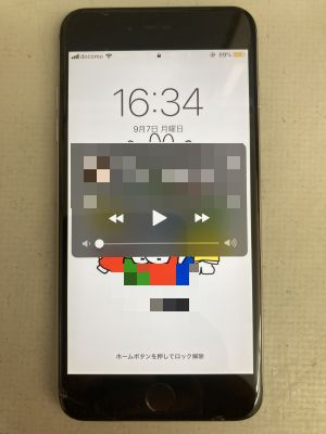 iPhone6Plusタッチ故障 ~大分市恵比寿