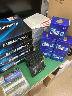 Core i3-10100搭載カスタムPC ~大分市津守
